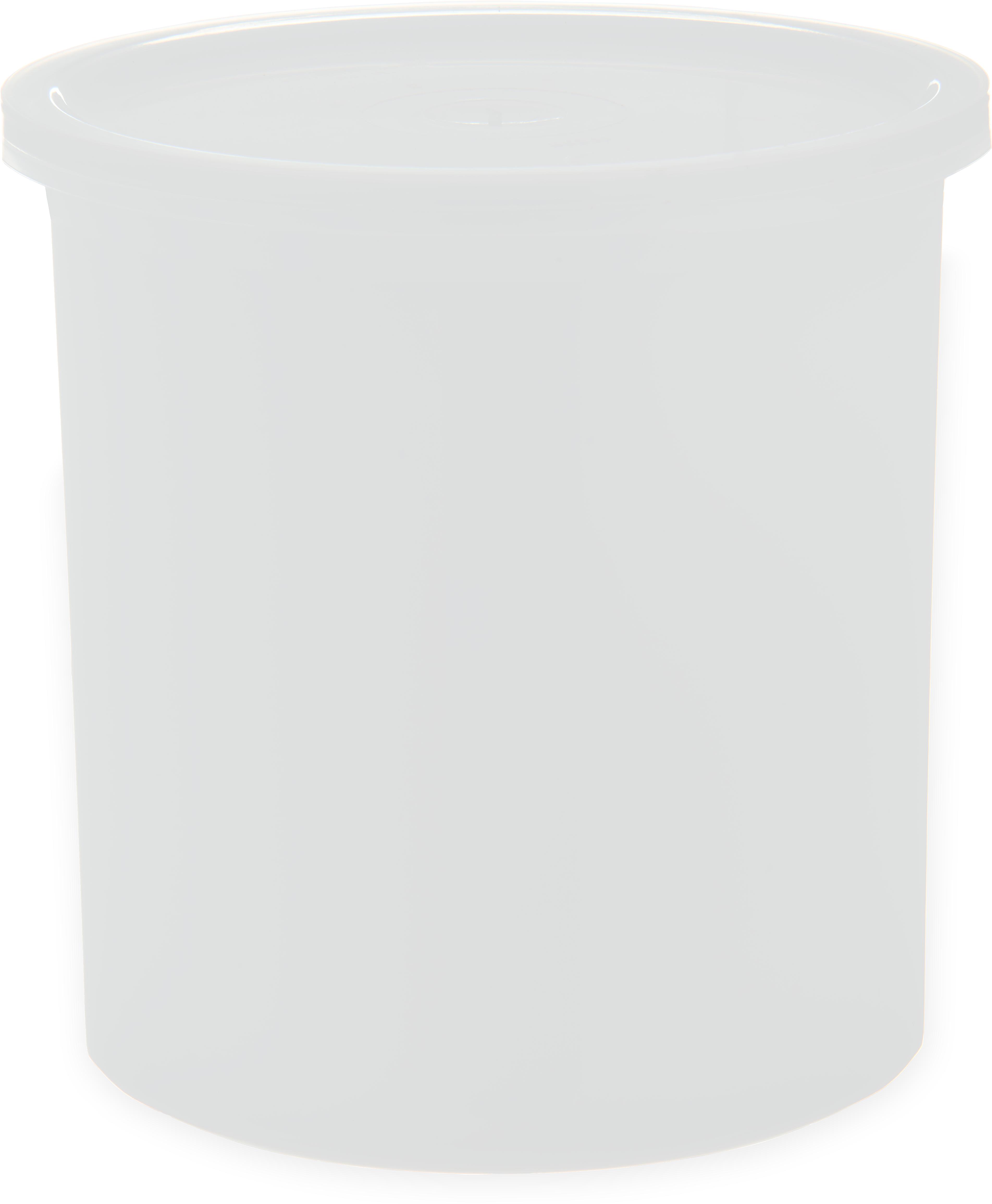 Classic Crock w/Lid 1.2 qt - White