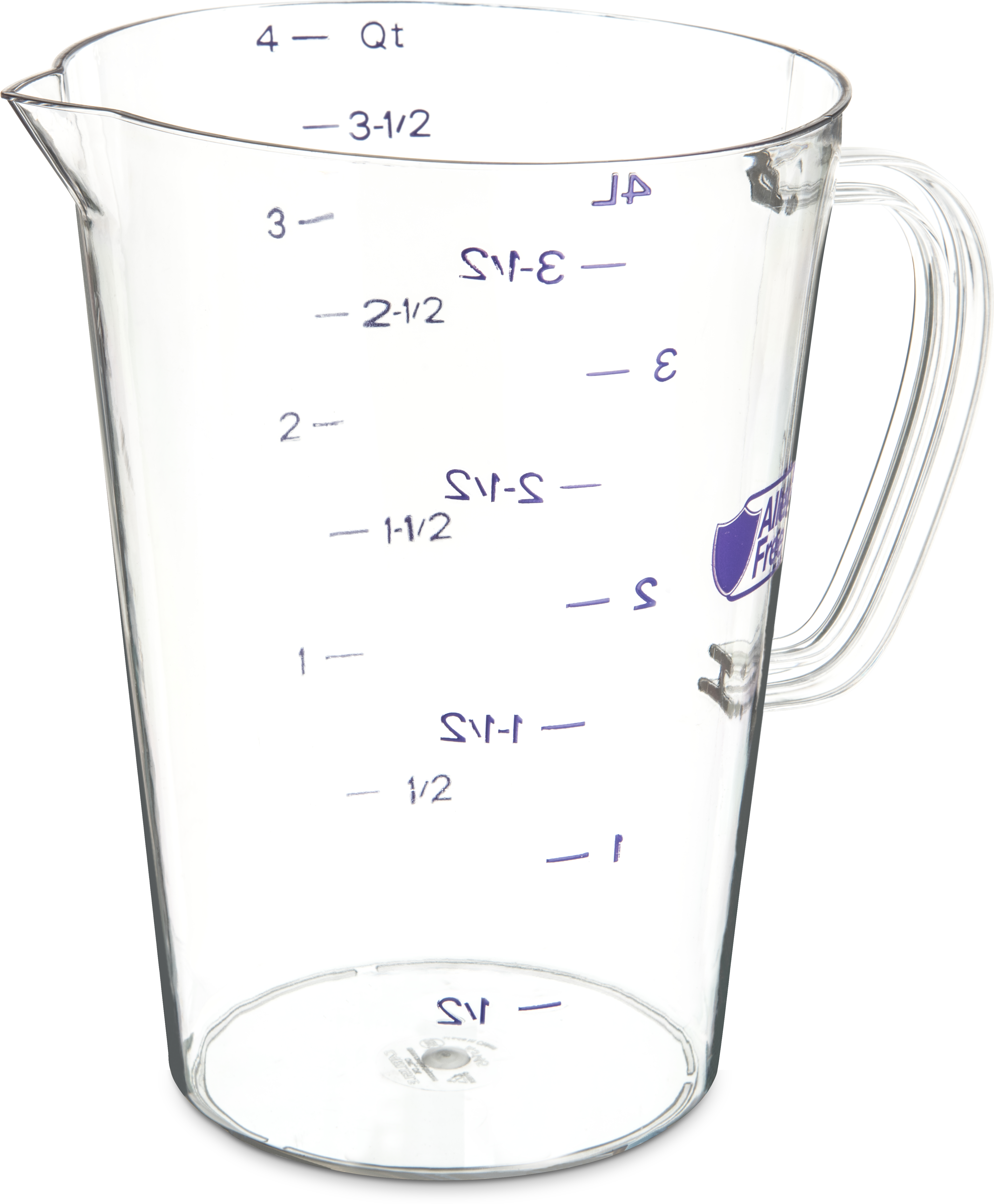 Commercial  Measuring Cup 1 gal - Purple