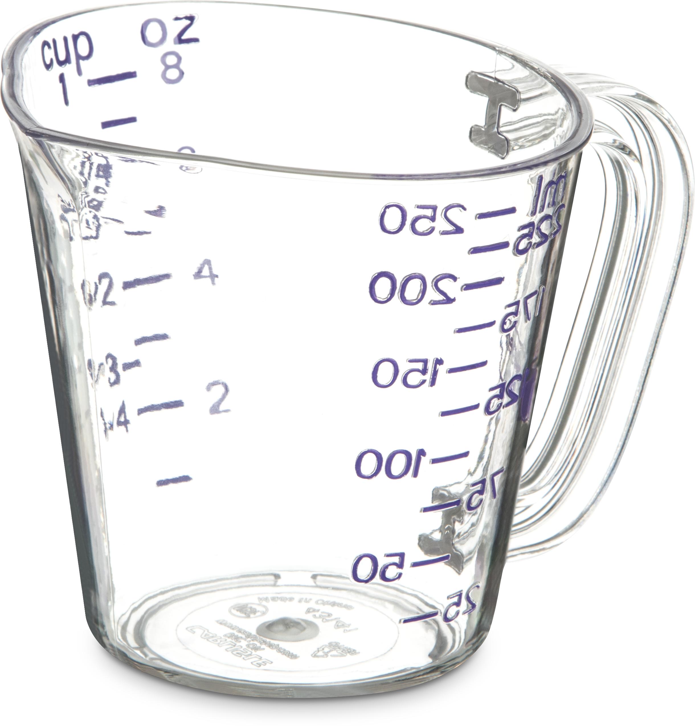 Commercial  Measuring Cup 1 c - Purple