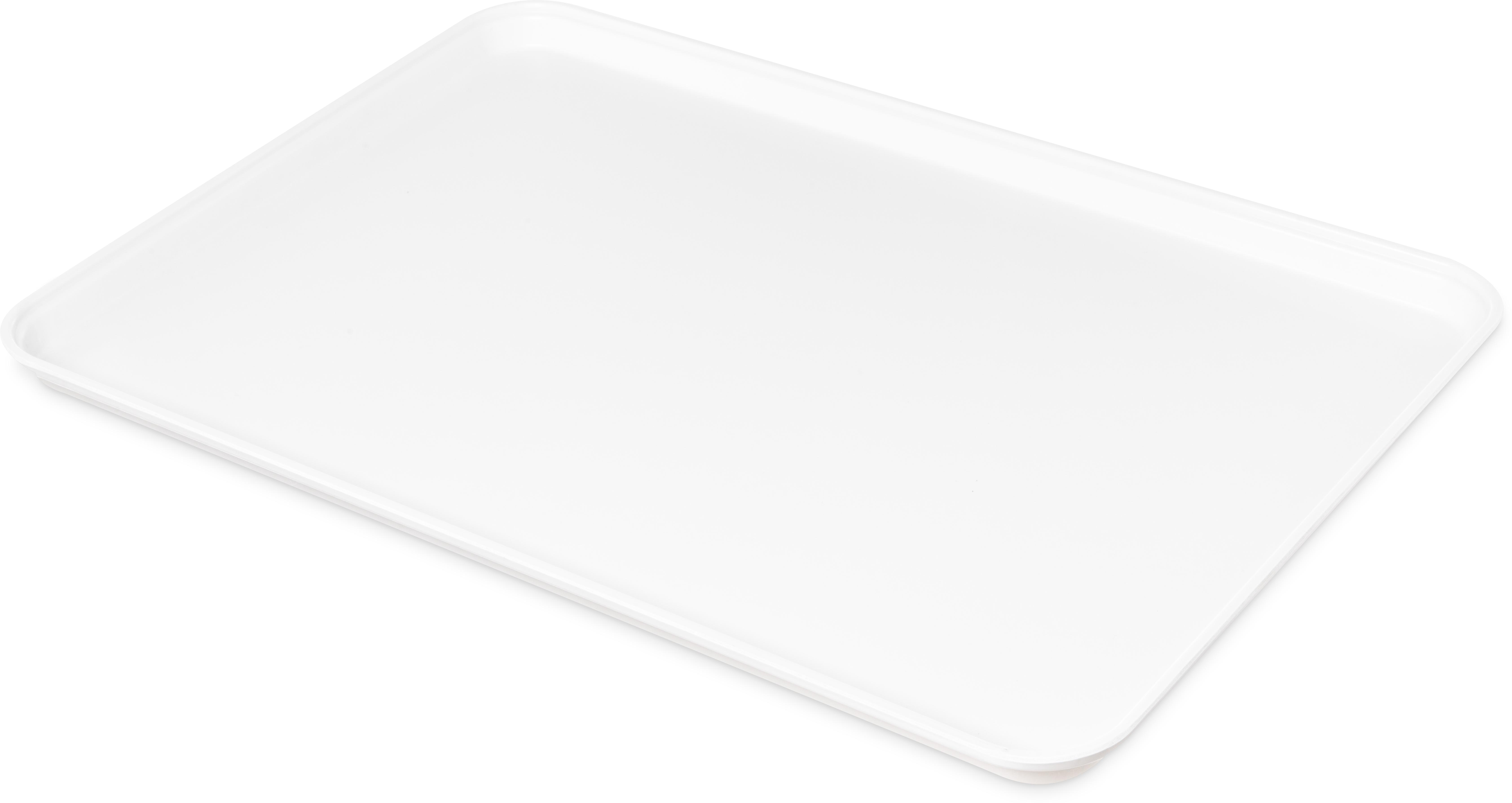 Glasteel Tray Market 17.9 x 25.6 (6ea) - Pearl White